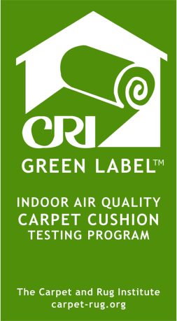 Label für Produktion Teppich Qualität