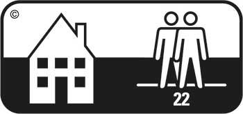 Strapazierwert normal Klasse 22 Teppichboden Teppich